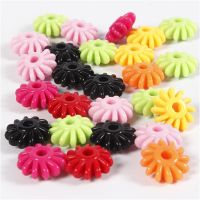 Tri-Beads, D: 27 mm, hole size 3 mm, 125 ml/ 1 pack, 65 g
