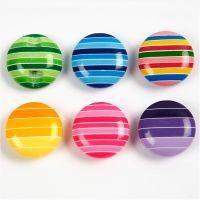 Deco Buttons, D: 14 mm, 24 pc/ 1 pack