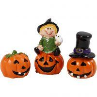 Miniature figurines, H: 1,5-3,5 cm, L: 2 cm, 3 pc/ 1 pack