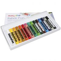 Sewing chalk, assorted colours, 15 pc/ 1 pack
