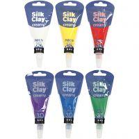 Silk Clay® Creamy, standard colours, 6x35 ml/ 1 set