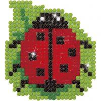 Diamond Dotz , Ladybug, size 7,6x7,6 cm, 1 pack
