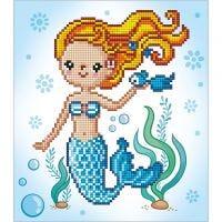 Diamond Dotz, Sweet Swimmer, size 20x20 cm, 1 pack