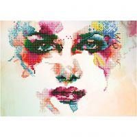 Diamond Dotz, Rainbow Dream, size 31x41 cm, 1 pack