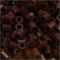 PhotoPearls, size 5x5 mm, hole size 2,5 mm, brown (3), 6000 pc/ 1 pack