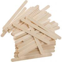 Lolly sticks, L: 11,4 cm, W: 10 mm, 5000 pc/ 1 pack, 6400 g
