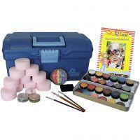 Eulenspiegel Face Paint - Motif Set, assorted colours, 1 set