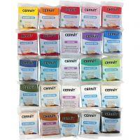 Cernit, assorted colours, 25x56 g/ 1 pack