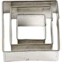 Metal Cutters, square, size 20+30+40 mm, 3 pc/ 1 pack