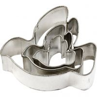 Metal Cutters, dove, size 40x40 mm, 3 pc/ 1 pack
