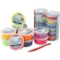 Foam Clay®, assorted colours, 22 tub/ 1 set