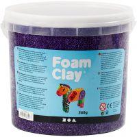 Foam Clay®, purple, 560 g/ 1 bucket