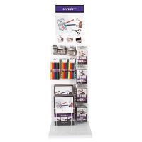Shrink Plastic Sheets, assorted colours, 154 sales units/ 1 pack