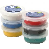 Silk Clay®, standard colours, 6x14 g/ 1 pack