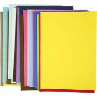EVA Foam Sheets, A3, 297x420 mm, 20 ass sheets/ 1 pack