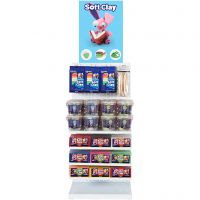 Soft Clay, assorted colours, 81 sales units/ 1 pack