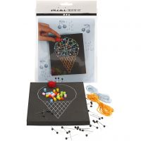 Mini Creative Kit, ice cream cone, 1 set