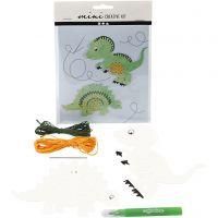 Mini Creative Kit, dinosaur, 1 set