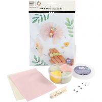 Mini Creative Kit, butterfly life cycle, 1 set