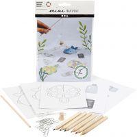 Creative mini kit, Fishing game, 1 set