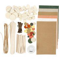 Crafting assortment, Nature, 1 pack