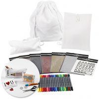 Creative kit– Decorating back to school textiles, 1 set
