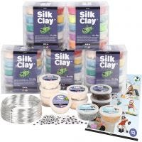 Set for Classes - Characters in Silk Clay®, 1 set