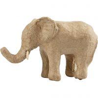 Elephant, H: 9 cm, L: 13 cm, 1 pc