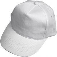Cap, size 49,5-56 cm, white, 1 pc