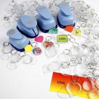 Key Rings, size 40-50 mm, 300 pc/ 1 pack