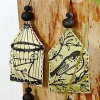 Bird Cages on a Canvas