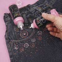 3D-Liner on Jeans
