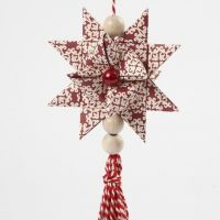 A Woven Star with a Tassel