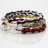 Braided Bracelets using the Japanese Technique, Kumihimo