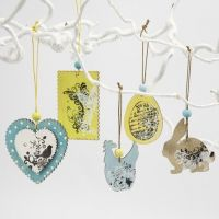Wooden Decorations for Hanging