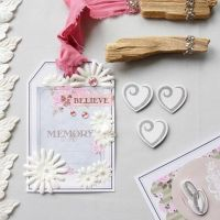 A large Gift Tag with Vivi Gade Design Paper and Decorations