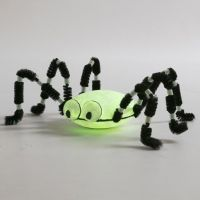 A large luminescent Spider