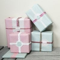 """Gift Wrapping with Decorations from Vivi Gade """"Skagen"""" Design"""