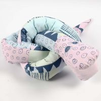 A Snake made from patterned Fabric