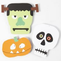 Card Shapes for Halloween