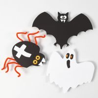 Card Decorations for Halloween
