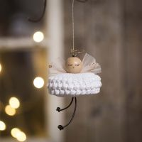 An Angel crocheted from Cotton Yarn
