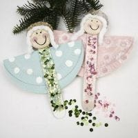 Lovely Paper Plate Angels