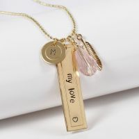Personal Jewellery with Metal Tags