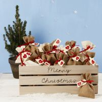 An Advent Calendar with Fabric Bags