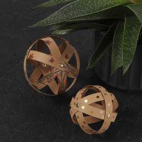 Decorative Faux Leather Paper Baubles