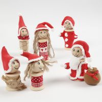 Elves made from Bobbins