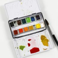How to mix watercolours